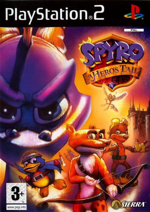 Carátula de Spyro: A Hero's Tail