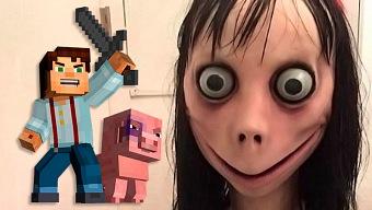 Microsoft no permitirá los contenidos de Momo en Minecraft