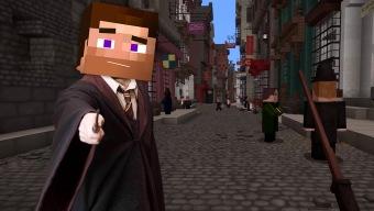 Disfruta de todo el mundo de Harry Potter en este fantástico mapa de Minecraft