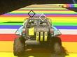 Así luce el mapa Rainbow Road de Mario Kart en Halo 5