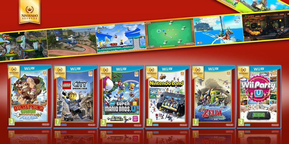 Nintendo Selects Anade Seis Videojuegos A Precio Reducido Para Wii U