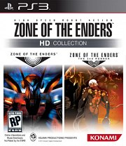 Carátula de Zone of the Enders HD Collection - PS3