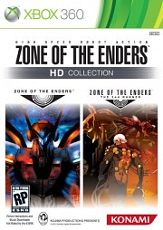 Carátula de Zone of the Enders HD Collection - Xbox 360