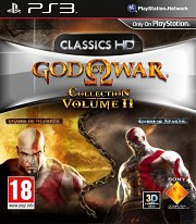Carátula de God of War Collection II - PS3