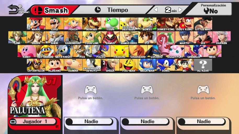 Super Smash Bros. análisis