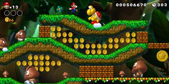 New Super Mario Bros U (Nintendo Wii U)