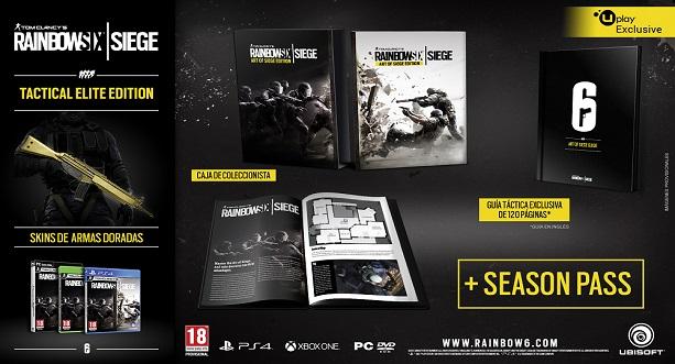 Rainbow Six Siege se lanzará el 13 de octubre