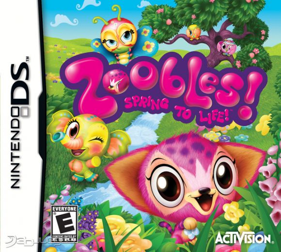 Zoobles Spring To Life Para Ds 3djuegos