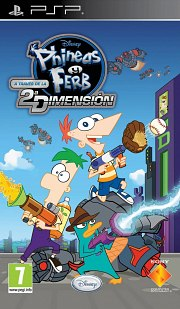 Carátula de Phineas y Ferb - PSP