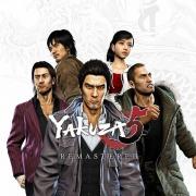 Carátula de Yakuza 5 Remastered - PS4