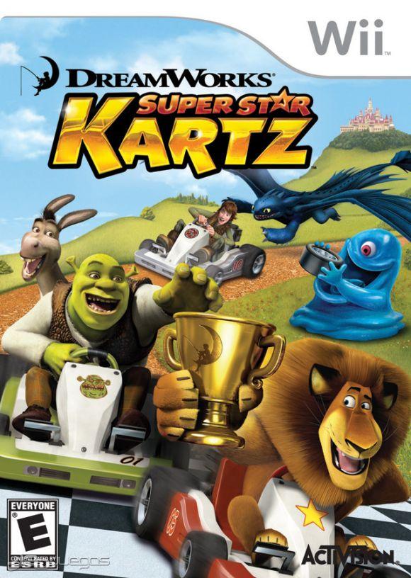 DreamWorks Super Star Kartz para Wii - 3DJuegos