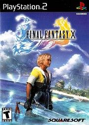 Carátula de Final Fantasy X - PS2