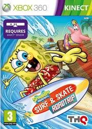 Carátula de Bob Esponja: Surf & Skate - Xbox 360