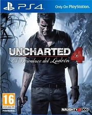 Carátula de Uncharted 4 - PS4