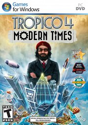 Car�tula oficial de Tropico 4: Modern Times PC