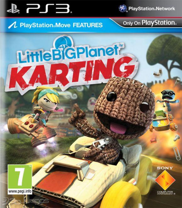 Littlebigplanet Karting Para Ps3 3djuegos
