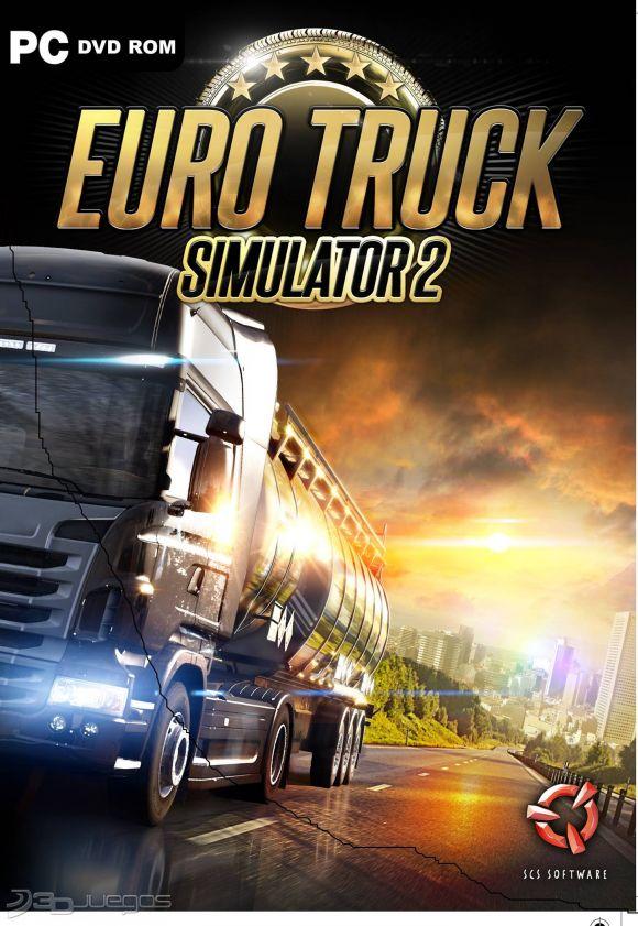 Car�tula de Euro Truck Simulator 2