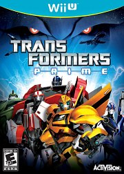 Carátula de Transformers Prime - Wii U