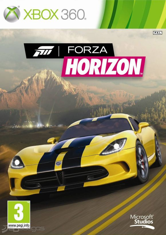 forza horizon para xbox 360 3djuegos. Black Bedroom Furniture Sets. Home Design Ideas