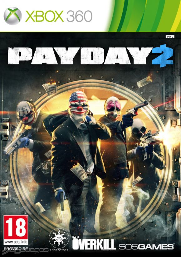 Payday 2 Para Xbox 360 3djuegos