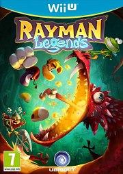 Carátula de Rayman Legends - Wii U
