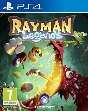 Carátula de Rayman Legends - PS4