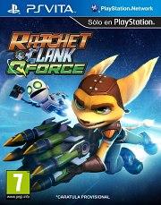 Carátula de Ratchet & Clank: QForce - Vita