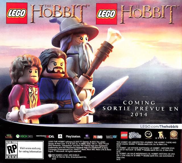 El Hobbit firme candidato a convertirse en un nuevo juego del universo LEGO