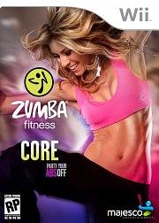 Carátula de Zumba Fitness Core - Wii