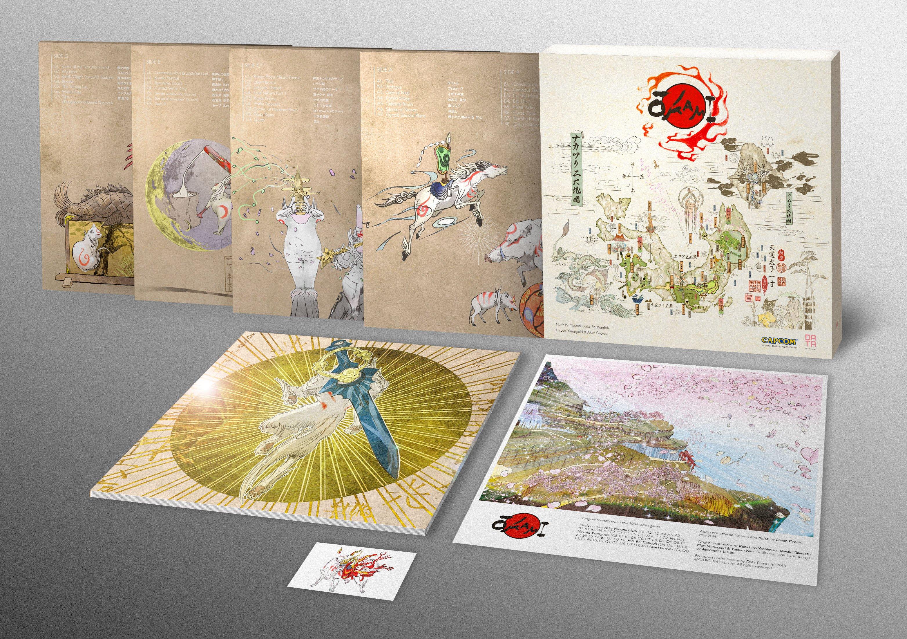 El legendario Okami pasa su música a un lujoso vinilo