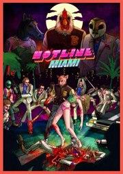 Carátula de Hotline Miami - Linux