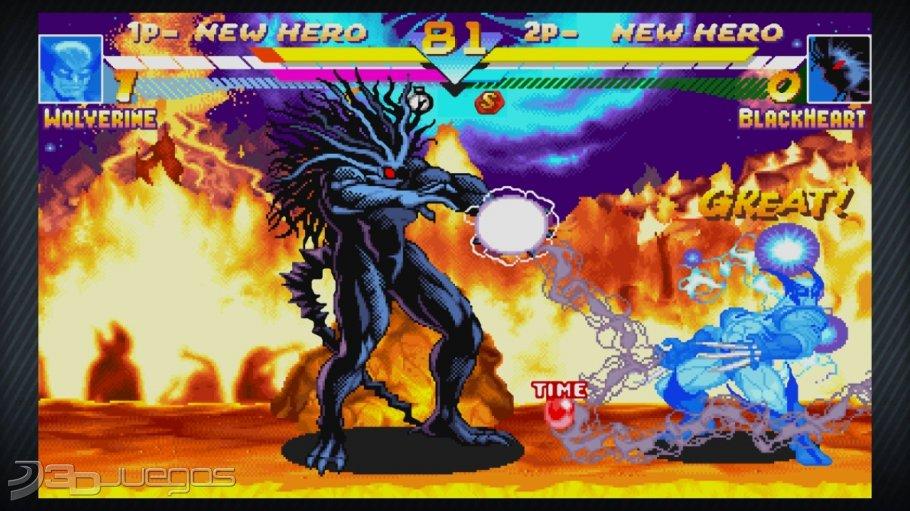 Im 225 Genes De Marvel Vs Capcom Origins Para Ps3 3djuegos