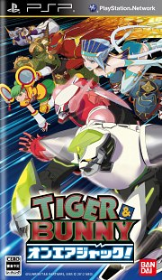 Carátula de Tiger & Bunny On Air Jack - PSP