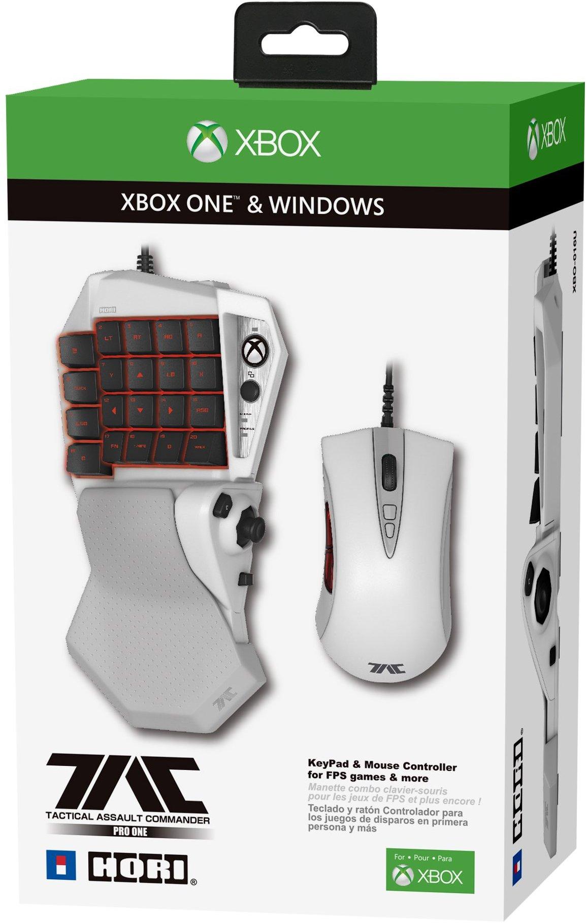 Xbox One recibirá su propio conjunto de teclado y ratón de Hori