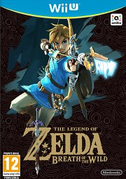 Carátula de Zelda: Breath of the Wild - Wii U