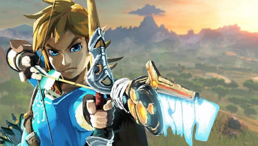 The Legend of Zelda: Breath of the Wild al estilo anime