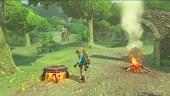 Video Zelda Breath of the Wild - Cocinando