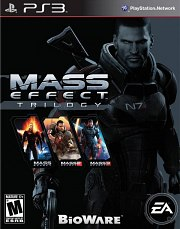 Carátula de Mass Effect Trilogy - PS3