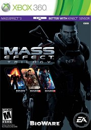 Carátula de Mass Effect Trilogy - Xbox 360
