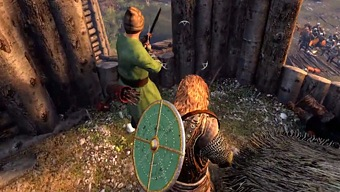 Video Mount & Blade II: Bannerlord, Defensa del Castillo - Gamescom 2016