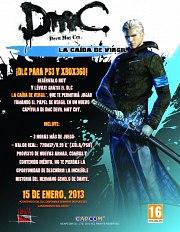 Carátula de DmC - La Caída de Vergil - Xbox 360