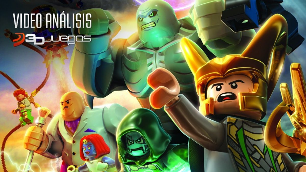 Marvel Super Heroes 60 Superhéroes: LEGO Marvel Super Heroes: Vídeo Análisis 3DJuegos (PS3, PC