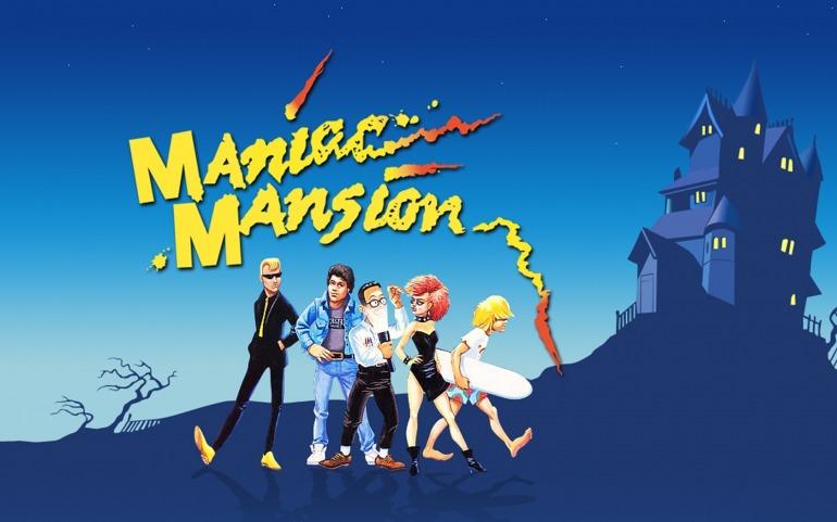 """Maniac Mansion fue el primer videojuego en acuñar el término """"cinemática""""."""