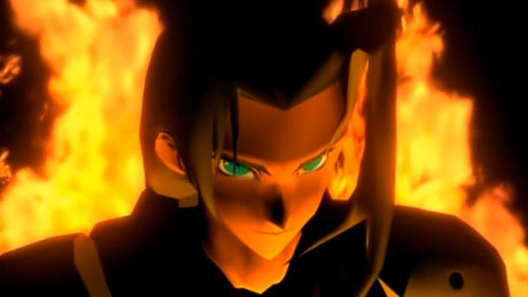 En el FFVII original, muchas de las cinemáticas se utilizan para presentarnos a Sephiroth de forma espectacular y amenazadora; aprovechando este recurso de forma inteligente.