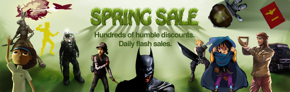 The Humble Store lanza sus ofertas de primavera