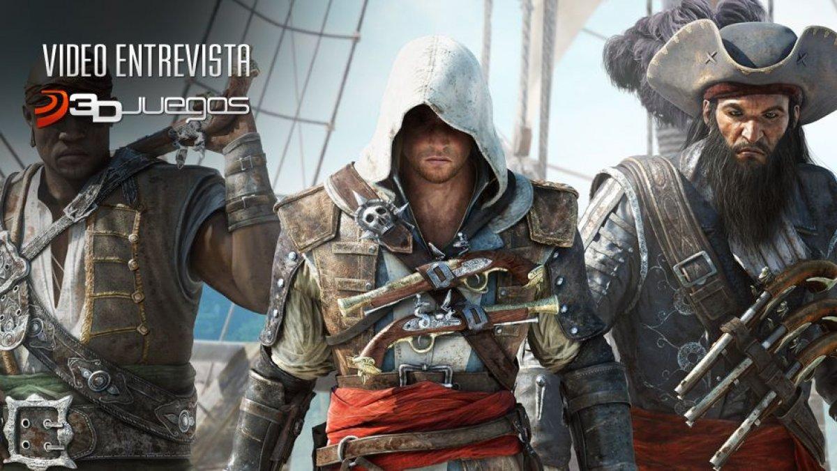 Assassins Creed 4: Vídeo Entrevista 3DJuegos: Ashraf Ismail