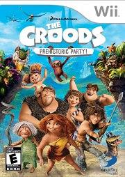 Carátula de Los Croods: Fiesta Prehistorica - Wii