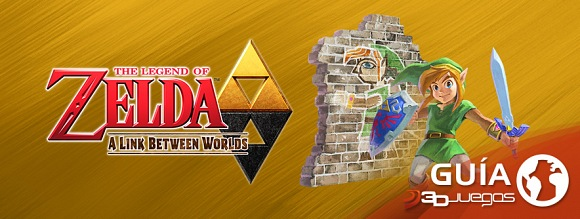 Guía Zelda: A Link Between Worlds