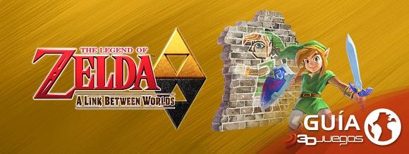 Guía Zelda: A Link Between Worlds
